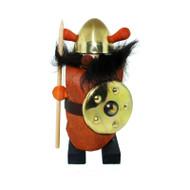 Viking w/Leather Vest - Brass & Wood (995)