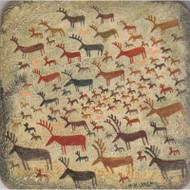 Reindeer Rock Art Trivet (6668)