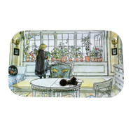 Carl Larsson The Flower Window Tray (6701)