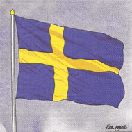 Sweden Flag Paper Luncheon Napkins (118806)