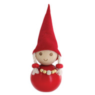 Tonttu Christmas Elf Girl with Necklace (B5700)