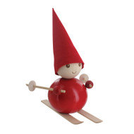 Tonttu Christmas Elf on Skis (B5701)
