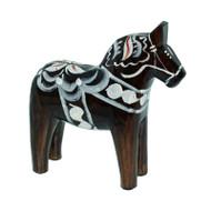 "Swedish Wooden Dala Horse - Pepparkakor - 5"" (SDH5PEP)"