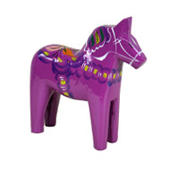 "Swedish Wooden Dala Horse - 7"" (SDH7P)"