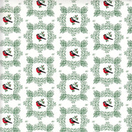 Christmas Wrapping Paper - Domherre (6817)