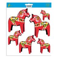 Dala Horse Stickers (14041)
