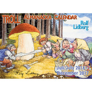 Rolf Lidberg Troll Almanacka Calendar - 2016/2017 (31709)