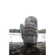 Wool Knit Mittens Tora (Tora)