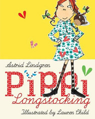 Pippi Longstocking by Astrid Lindgren - Hardcover (62768H)