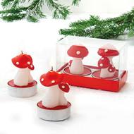 Mushroom Tealight Candles (2766)