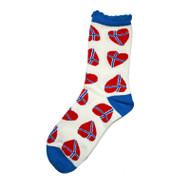 Norway Heart Socks (62792)