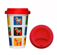 Dala Horse Travel Mug (5016401)