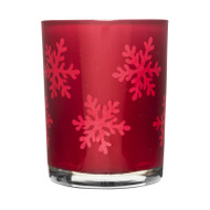 Winter Tealight Holder - Red (5017277)