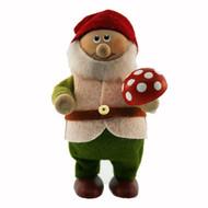 Tomte Santa Forest Man with Mushroom (123)