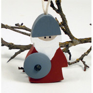 "Viking Ornament - Wooden - 3"" (45417)"