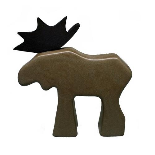 Moose - Brown Ceramic (62906)