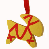 Julbock/Goat Ornament - Wooden (44728Y)