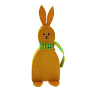 Yellow Wooden Easter Bunny (56577Y)