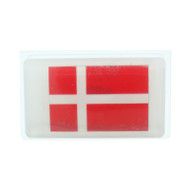 Denmark Flag Scandinavian Soap - 5 oz. Bar - Oatmeal Milk & Honey (SS1D)