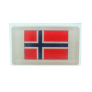 Norway Flag Scandinavian Soap - 5 oz. Bar - Oatmeal Milk & Honey (SS1N)