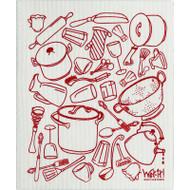 Swedish Dishcloth - My Kitchen (70069)