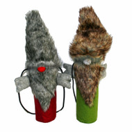 Bottle Bag - Santa Fur - Red (BB017-3)