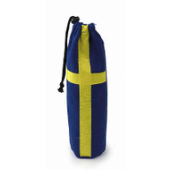 Sweden Flag Bottle Bag - Felt (BB095-SV)
