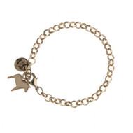Dala Horse Charm Bracelet - Rose (62924)