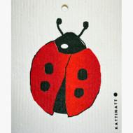 Swedish Dishcloth - Ladybug (56184)