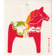 Swedish Dishcloth - Dala Horse (56189)