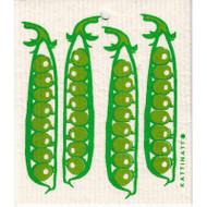 Swedish Dishcloth - Pea Pods (56195)