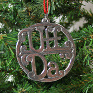 Norwegian Pewter Ornament - Uff Da (78-3108)