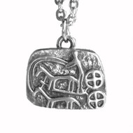 Solvagnen - Sun Chariot Pendant - Pewter (5026)