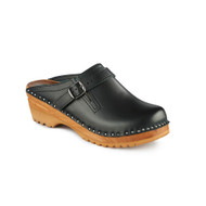 Raphael Clogs in Black (6062-011)