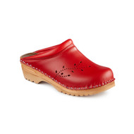 O'Keefe Clogs in Red (6087-036)