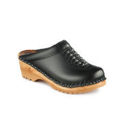 Wright Clogs in Black (6166-011)