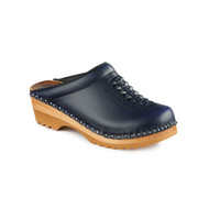 Wright Clogs in Dark Blue (6166-043)