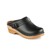 Johansson Clogs in Black (6907-011)