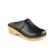 Da Vinci Clogs in Black - Original Sole Collection - Women's (767-011)