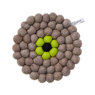 Wool Trivet/Pot Mat - Natural (1028)