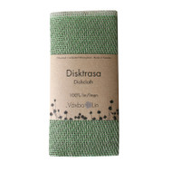 Linen Disktrasa Dishcloth - Leaf Green (91-24)