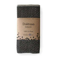 Linen Disktrasa Dishcloth - Black (91-3)