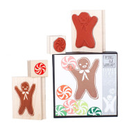 Gingerbread Mint Stamp Set (S903)