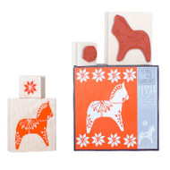 Dala Horse Stamp Set (S905)