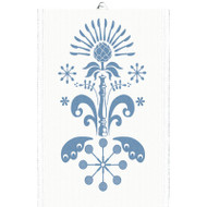 Ekelund Tea/Kitchen Towel - Tinas Kurbits - Blue (Tinas Kurbits-21T)