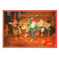 Paper Poster - Dancing Jultomtar (BO389)
