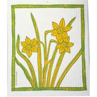 Swedish Dishcloth - Daffodils (218.23)