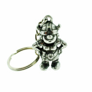 Viking Girl Pewter Key Ring (62534)