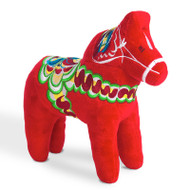 Dala Horse Stuffed Animal - Plush Toy - (20122)
