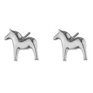 Dala Horse Earrings (Posts/Stick) - (62916)